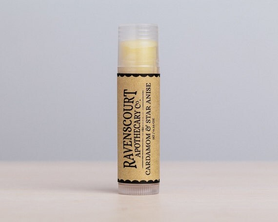 Cardamom & Star Anise Vegan Lip Balm - Limited Edition 'Winter Spices'