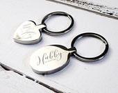 Personalised Keyring  Engraved Keyrings  Gift ideas for Godmothers  Gift ideas for Mum  Soul Sisters Gifts  Personalised Keyring (W219)