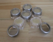 20 Lip Balm Pots, Makeup Perfume Jars, Empty Containers 5ml, Lip Balm Pots, Samplers, High Quality Lip Butter Jars, Eye Makeup Containers