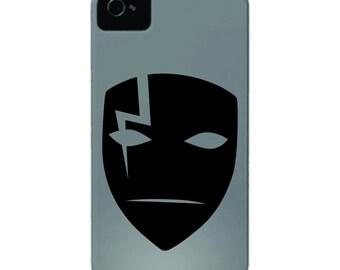 Darker Than Black - Black Reaper Mask Decal