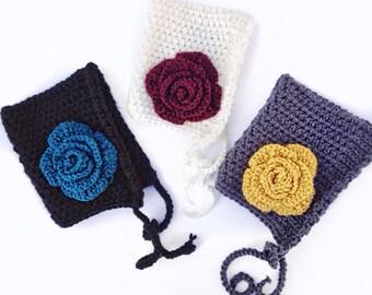 Rose Pixie Bonnet
