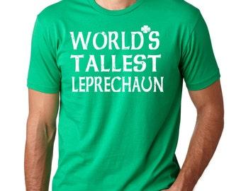 St Patrick's Day T-Shirt Shamrock Clover Tee Shirt Leprechaun Lucky Charm Tee