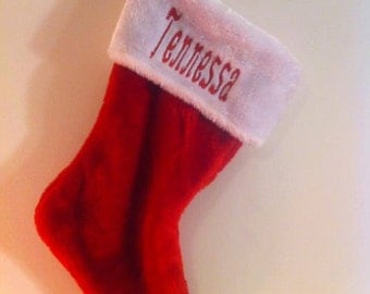 Personalized Christmas Stockings!