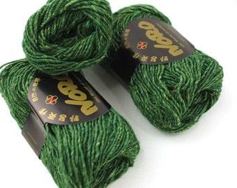 Silk Garden Solo, color 12, Forest  - mohair, wool, silk knitting yarn