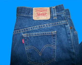 Levis 550 Relaxed 22 W M