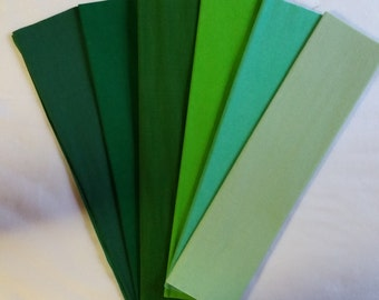 CHRISTMAS GREEN Crepe Paper, Dennison Crepe Paper, Crepe Paper, Paper Flowers, Flower Making Paper, Mexican Paper Flowers, Paper Decorations