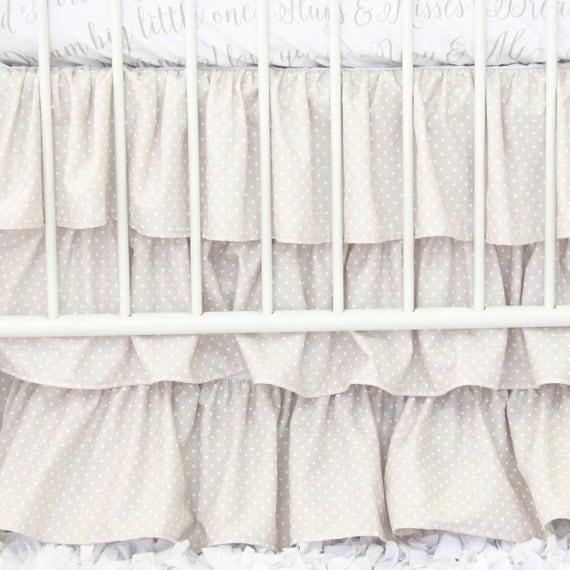 Dot Crib Skirt 119