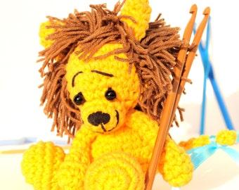 Crochet amigurumi lion - Amigurumi lion doll - Crochet Amigurumi - lion Doll - Amigurumi Animal - Crochet Animal - Soft toy