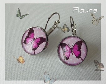 Earrings Butterfly