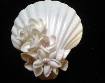 Seashell Nightlight - Shell Nightlight - Beach Decor Nightlight - Beach Decor Lighting - Beach Decor Night Light - Coastal Decor Lighting
