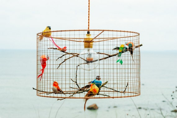 Birdcage Pendant Light from Kekoni