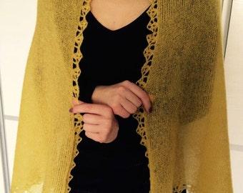 Wonderful knitted shawl