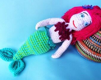 "Little Mermaid Doll- 16"" Tall"