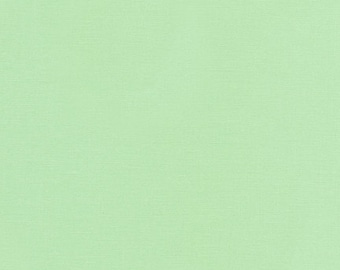 Fabric - Robert Kaufman- Kona solids - Mint - cotton