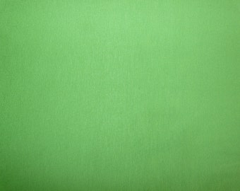 Fabric - Viscose elastane jersey fabric - grass green.