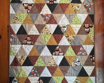 MTO - custom triangle quilt - child size