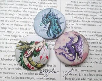 3 pins pins pins dragon