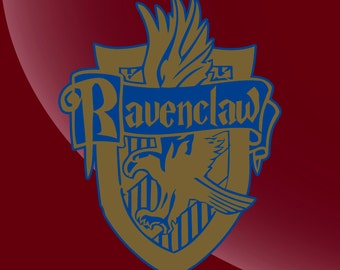 Ravenclaw House Crest Harry Potter Decal Sticker