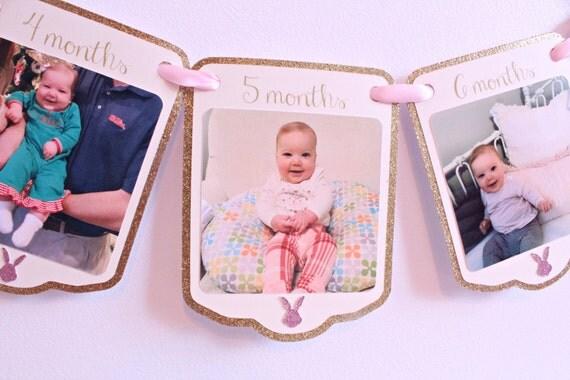 Baby Birthday Wall Decoration : Baby boy girl first birthday wall decoration garland with
