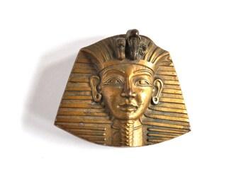 Vintage Egyptian Pharaoh Belt Buckle