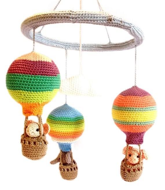 kindergarten mobile baby hei luftballon mobiles bunte. Black Bedroom Furniture Sets. Home Design Ideas