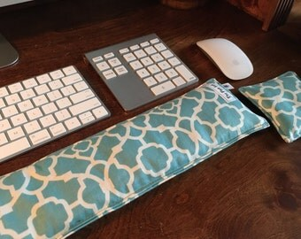 Keyboard Pad Mouse Pad - Ergonomic Wrist Rest Heat Pack- College school supplies - Support Wrist Typing -Back to school ideas- carpal tunnel