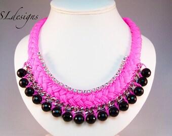Fashion statement jewellery set