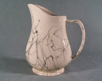 Brush Mc Coy Vase Pitcher #P11 String Glaze        S938