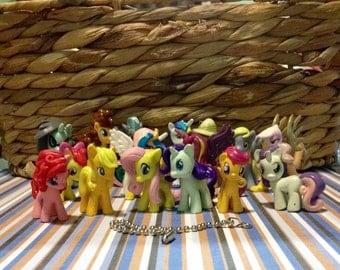 Fan pulls, My Little Pony figures, housewares, kids room decor, lighting fixtures