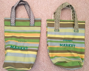 Farmers market shopping bag only three available