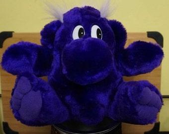 "Kadak Kolorkins; ""Koink"": Fantasy Creature; 1995; Approx. 8 x 11; Cute Purple Monster !!!"