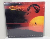 Air Supply vintage vinyl record -  Now And Forever LP album SEALED OOP || 80's Soft Rock