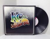 KC & the Sunshine Band vintage vinyl record LP album || 70's Disco Funk || Boogie Shoes, Get Down Tonight