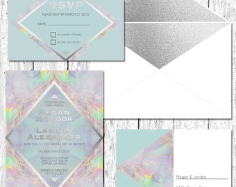 Etherial Opal Invites