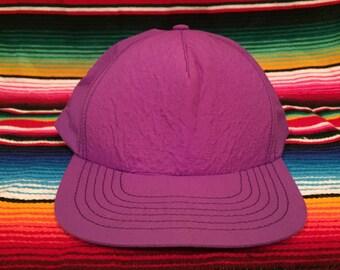 VTG Purple Lightweight snapback hat