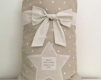 Personalised Christmas Santa Sack -medium