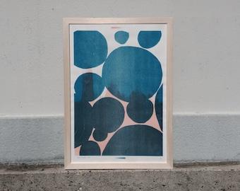 Shapes & Stories risograph print #2 by Studio Marije Pasman