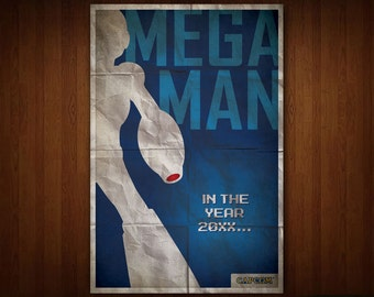 Mega Man Poster (Multiple Sizes)
