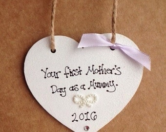 First mothers day gift first mothers day as a mummy heart keepsake