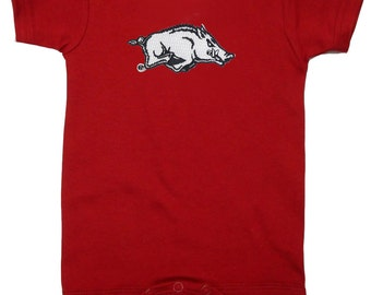Arkansas Razorbacks Team Spirit Baby Bodysuit
