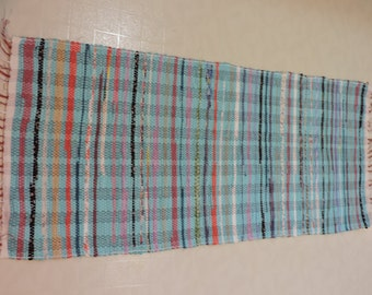 Hand Woven Rag Rug (16-11)