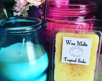 Tropical Soda Wax Melts-100% Soy Wax Melts