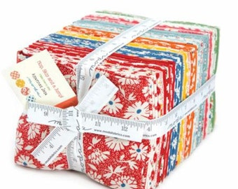 Hop, Skip and a Jump! by American Jane for Moda Fat Quarter Bundle with Panel 40 Pieces 21700ab