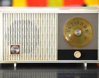 Bluetooth Speaker: 1960's Zenith Ivory Radio iPod/Mp3