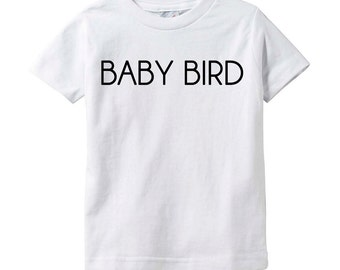 Baby Bird Infant T-Shirt, Baby Bird Toddler T-Shirt, Baby T-Shirt, Infant TShirt, Short Sleeve, Custom, Cotton, Infant T, Boy/Girl