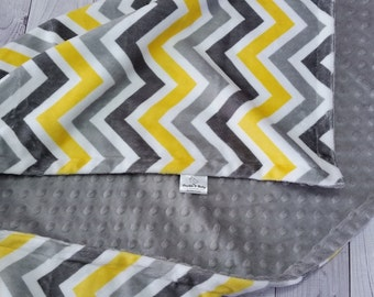 Personalized Baby Blanket, Minky Baby Blanket, Gender Neutral Baby Blanket, Minky Blanket,