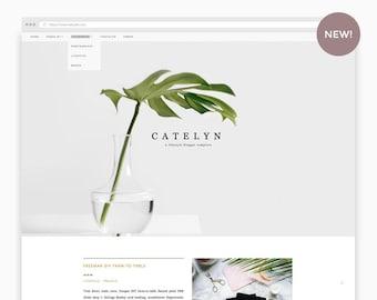 Responsive Blogger Template | Catelyn