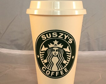 Personalized Starbucks To Go Cup