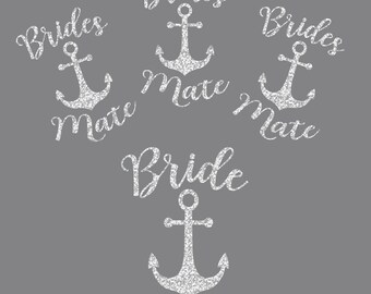 Bridal Bundle Anchors of Love Iron On Decals
