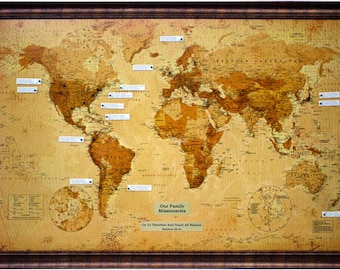 The Family Missionary Map